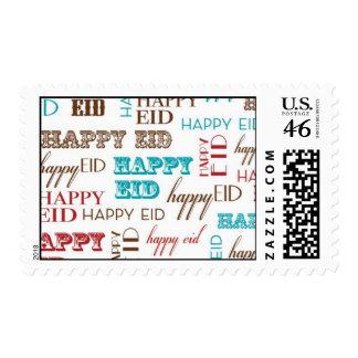 Modern Eid-Typo stamp