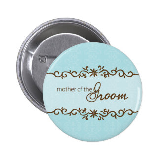Modern Elegance Mother of the Groom Button