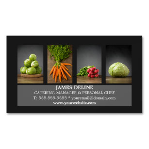 Catering Business Cards Templates Zazzle