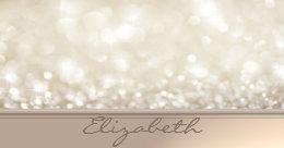 Chic business card holders cases zazzle modern elegant chic girly glitterybokeh business card holder colourmoves