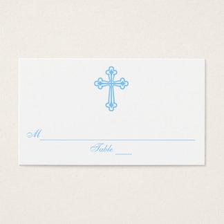 Modern Elegant Cross Communion Seating Place Cards