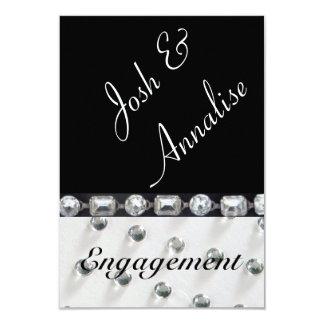 Modern & elegant Engagement party invitation