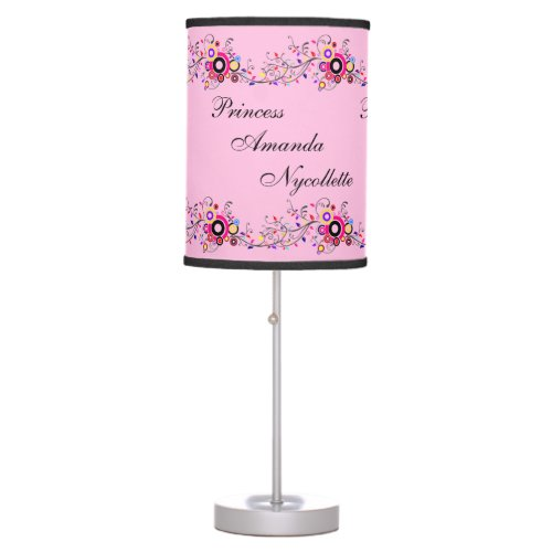 Modern & Elegant Flair Princess Design Table Lamp