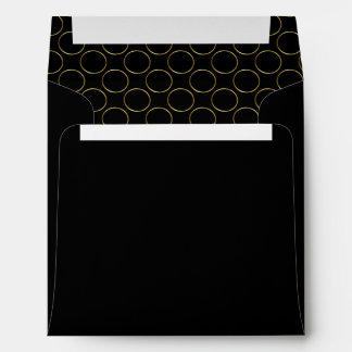 Modern Elegant Gold Foil Envelope