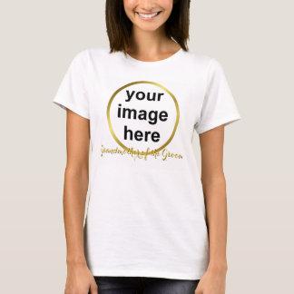 Modern Elegant Gold Foil GRANDMOTHER OF THE GROOM T-Shirt