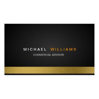 MODERN ELEGANT MINIMALIST PROFESSIONAL GOLD BUSINESS CARD TEMPLATES