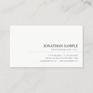 Professional Business Cards Zazzle