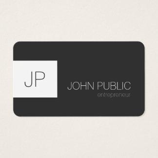 Modern Elegant Minimalist Rounded Corners Business Card