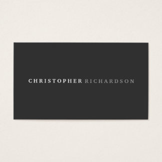 MODERN & ELEGANT No. 1 Business Card