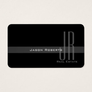 Modern elegant pale style business card