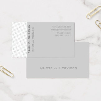 Modern Elegant Professional Edgy Pastel Colors Business Card