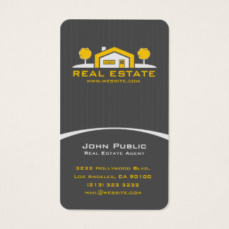 Modern Elegant Professional Real Estate Business Card