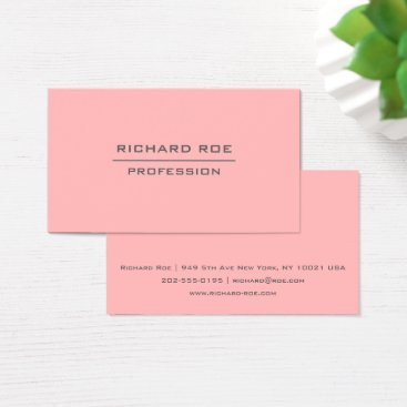Professional Business Modern Elegant Professional Red Business Cards