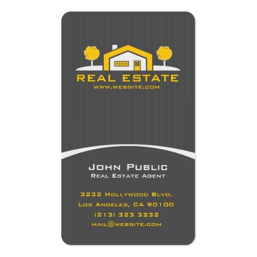 Modern Elegant Real Estate Business Card