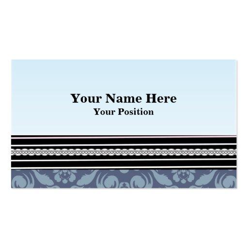 Modern Elegant Seashell Business Card