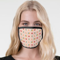 Modern Elmo Pattern Face Mask