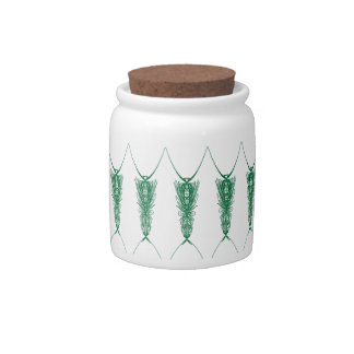 Modern Embroidery 1 Candy Jars