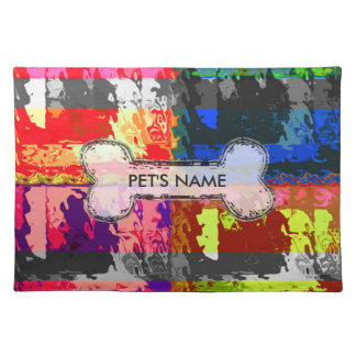 Modern Etro Custom Dog Cloth Placemat