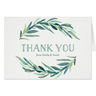 Modern Eucalyptus | Baby Shower Thank You Card