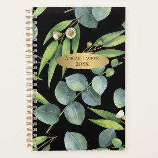 Modern Eucalyptus Foliage Personalized Planner