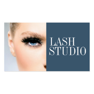 Modern Eyelash Extensions Aesthetician Card