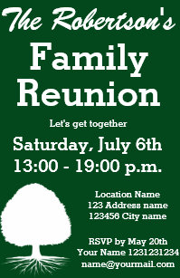 family get together invitations zazzle