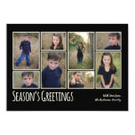 Modern Family Season's Greeting Photo Collage Card Custom Announcements