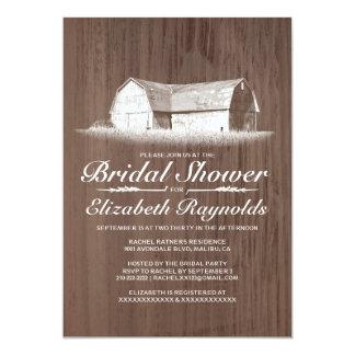 Modern Farm Bridal Shower Invitations