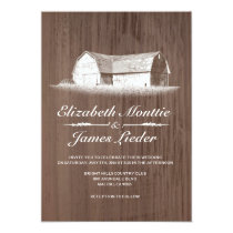 Modern Farm Wedding Invitations