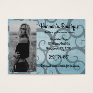 Modern Fashion Boutique Business Card
