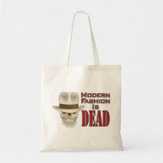 """Modern Fashion Is DEAD"" Tote Bag"