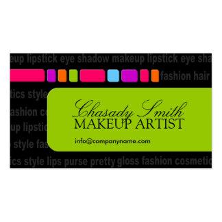 Modern Fashion & Makeup Business Card