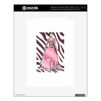 MODERN FASHION DECALS FOR THE NOOK