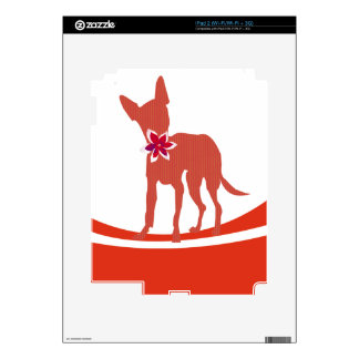 Modern Fashionable  Dog Chihuahua Decals For The iPad 2