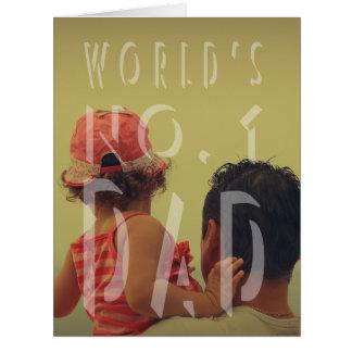Modern Father's Day Big Greeting Card