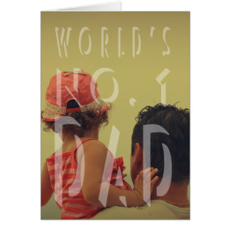 Modern Father's Day Greeting Card