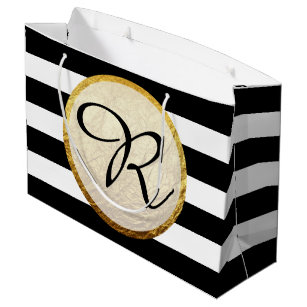 Black And White Gift Bags Zazzle