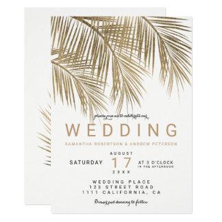 Palm Tree Wedding Invitations Announcements Zazzle
