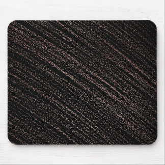 Modern faux rose gold dots confetti black mouse pad