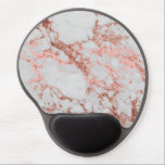 """Modern faux rose gold glitter marble texture image gel mouse pad<br><div class=""""desc"""">Modern faux rose gold glitter marble texture image,  shining glow pink,  rose gold glitter abstract strokes,  white grey faux marble stone,  special occasions,  texture,  Shapes,  design,  messy,  craft,  artwork,  illustration,  custom,  young,  decorative,  creative,  fashion,  unique,  fresh,  luxury,  chic,  beautiful,  pretty,  cute,  art,  popular,  awesome,  stylish,  image.</div>"""