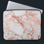 "Modern faux rose gold glitter marble texture image laptop sleeve<br><div class=""desc"">Modern faux rose gold glitter marble texture image,  shining glow pink,  rose gold glitter abstract strokes,  white grey faux marble stone,  special occasions,  texture,  Shapes,  design,  messy,  craft,  artwork,  illustration,  custom,  young,  decorative,  creative,  fashion,  unique,  fresh,  luxury,  chic,  beautiful,  pretty,  cute,  art,  popular,  awesome,  stylish,  image.</div>"