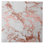 """Modern faux rose gold glitter marble texture image tile<br><div class=""""desc"""">Modern faux rose gold glitter marble texture image,  shining glow pink,  rose gold glitter abstract strokes,  white grey faux marble stone,  special occasions,  texture,  Shapes,  design,  messy,  craft,  artwork,  illustration,  custom,  young,  decorative,  creative,  fashion,  unique,  fresh,  luxury,  chic,  beautiful,  pretty,  cute,  art,  popular,  awesome,  stylish,  image.</div>"""