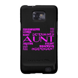 Modern Feminine Chic & Stylish Aunties & Aunts Galaxy S2 Covers