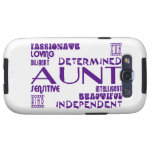 Modern Feminine Chic & Stylish Aunties & Aunts Galaxy SIII Cases