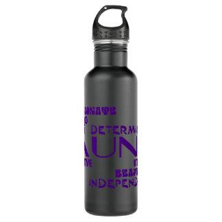 Modern Feminine Chic & Stylish Aunties & Aunts Stainless Steel Water Bottle