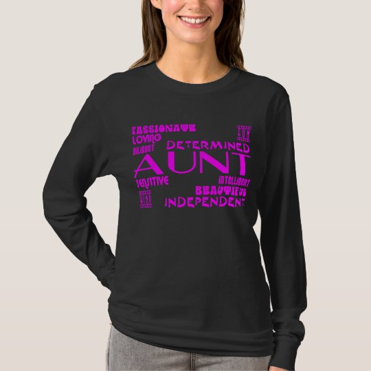 Modern Feminine Chic & Stylish Aunties & Aunts T-Shirt