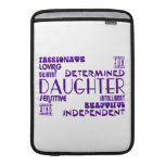 Modern Feminine Chic & Stylish Daughters MacBook Air Sleeves