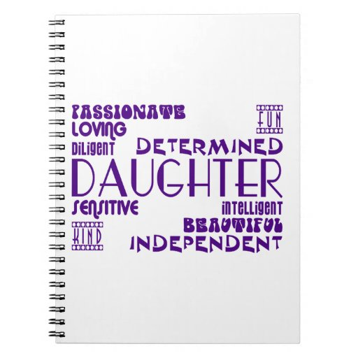 Modern Feminine Chic & Stylish Daughters Notebook