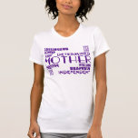 Modern Feminine Chic & Stylish Moms & Mothers Tshirt