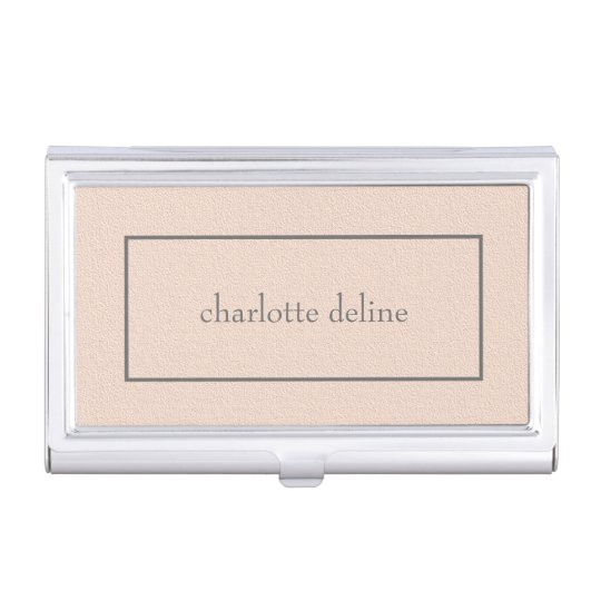 Modern feminine chic texture pale pink beauty business card holder modern feminine chic texture pale pink beauty business card holder colourmoves